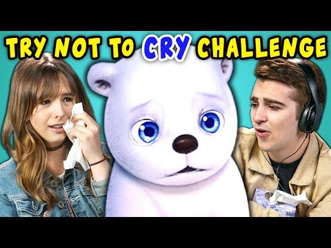 College Kids React To Try Not To Cry Challenge: Saddest Animations