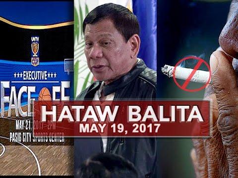 UNTV: Hataw Balita (May 19, 2017)