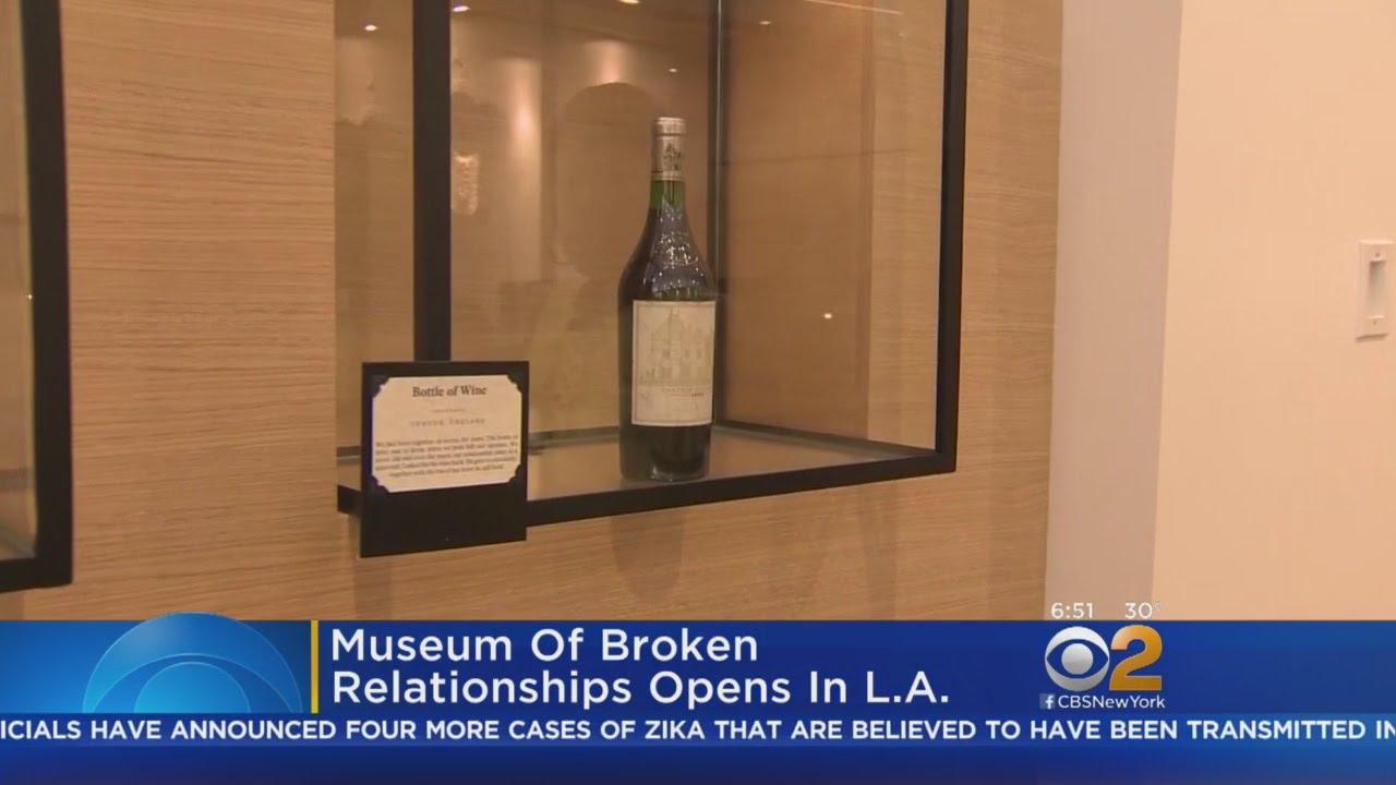 museum of broken relationships opens in los angeles youtube. Black Bedroom Furniture Sets. Home Design Ideas