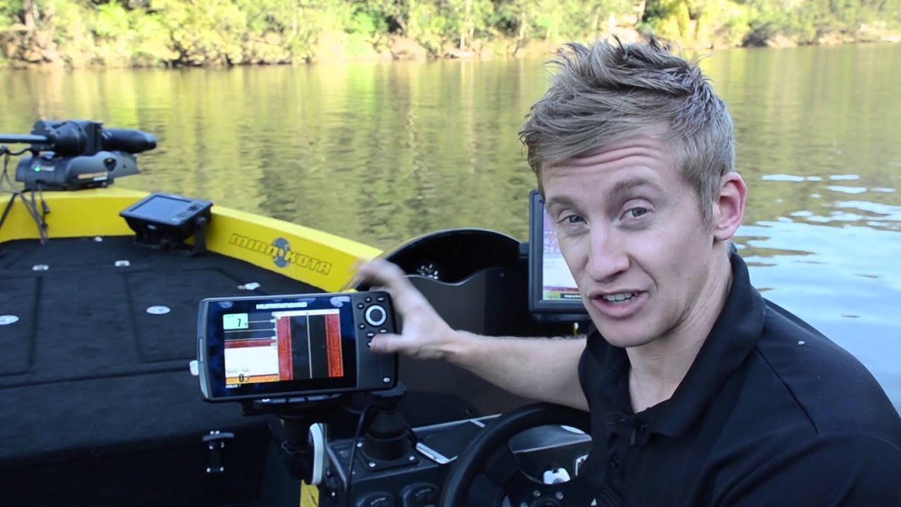 bla – humminbird – helix 7 review with oli from humminbird pro, Fish Finder