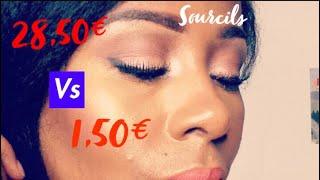 CRAYON A SOURCILS / 28,50€ VS 1,50€ LE MATCH!!!