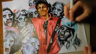 """Thriller"" in Copic Markers"