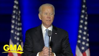 Impromptu celebrations broke out in the streets of several major u.s. cities once presidential race was won by biden-harris ticket.subscribe to gma's...