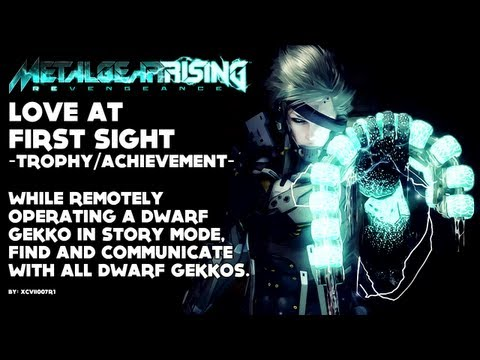 Metal Gear Rising: Revengeance - 'Love at First Sight' Achievement/Trophy Video Guide (Xbox360/PS3)