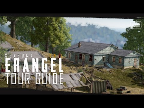PUBG - Season 4 - Erangel Tour Guide Episode 1