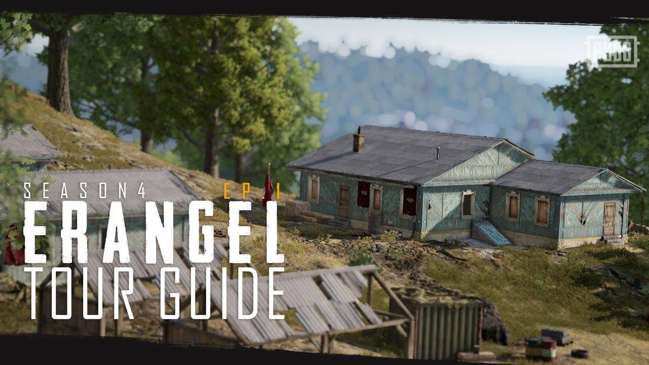 PUBG - Season 4 - Erangel Tour Guide Episode 1 thumbnail