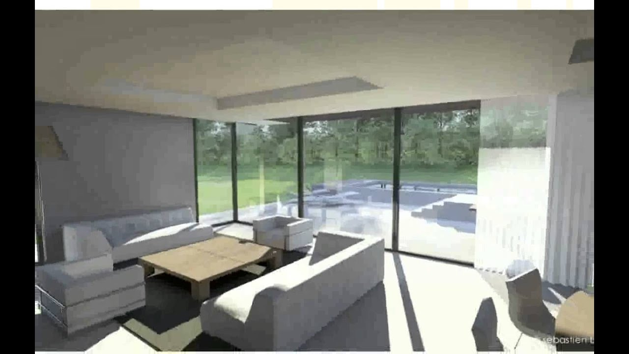 Int rieur de maison design youtube for Architecture exterieur maison