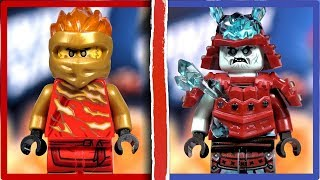 LEGO Ninjago Бій майстрів кружітцу Кай проти Самурая Ninjago season 11