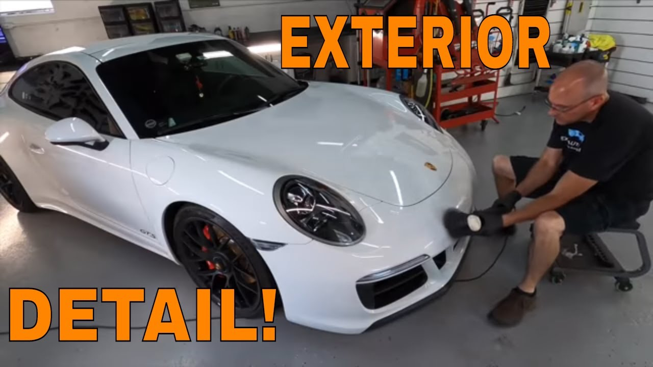 Porsche 911 Carerra 4 GTS Maintenance Exterior Detail! What I use And How I Use It! (Exterior)