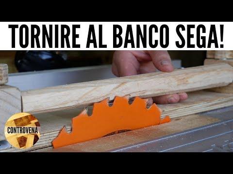 Slitta per TORNIRE gambe al BANCO SEGA fai da te | Dime e JIG #7 ...