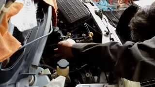 ムーブ EF-VE エンジン・VVT交換作業