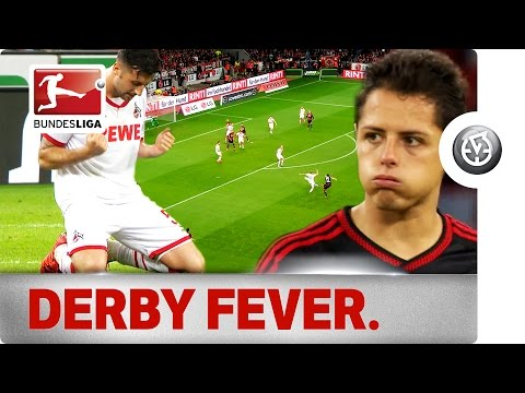 Leverkusen vs. Köln - Chicharito Scores in Thrilling Rhine Derby