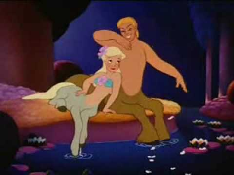 Fantasia 1940 part3: The Pastoral Symphony, with female centaurs and angels