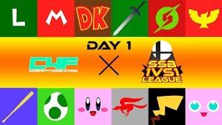 Super Smash Bros. 1vs1 League - DAY 1