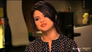 Selena gomez interview on abc news / yahoo