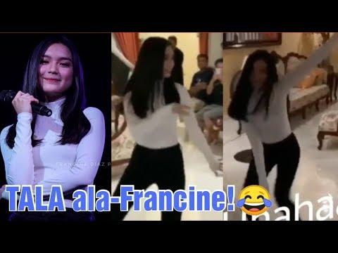 Francine Diaz, May Sariling VERSION ng TALA Dance Craze! Ang Husay Husay!
