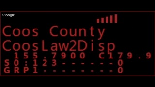 Live police scanner traffic for Douglas county, Oregon.  1/19/2018  5:20 PM