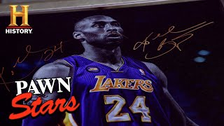 Pawn Stars: LEGENDARY Kobe Bryant Collection is a SLAM DUNK DEAL (Season 18) | History