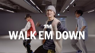 NLE Choppa - Walk Em Down / Youngbeen Joo Choreography