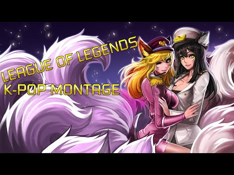 LEAGUE OF LEGENDS K-POP MONTAGE ft. Popstar Ahri and Arcade Sona