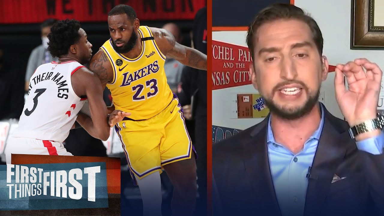 Nick Wright talks Raptors and why he isn't worried about the Lakers   NBA   FIRST THINGS FIRST