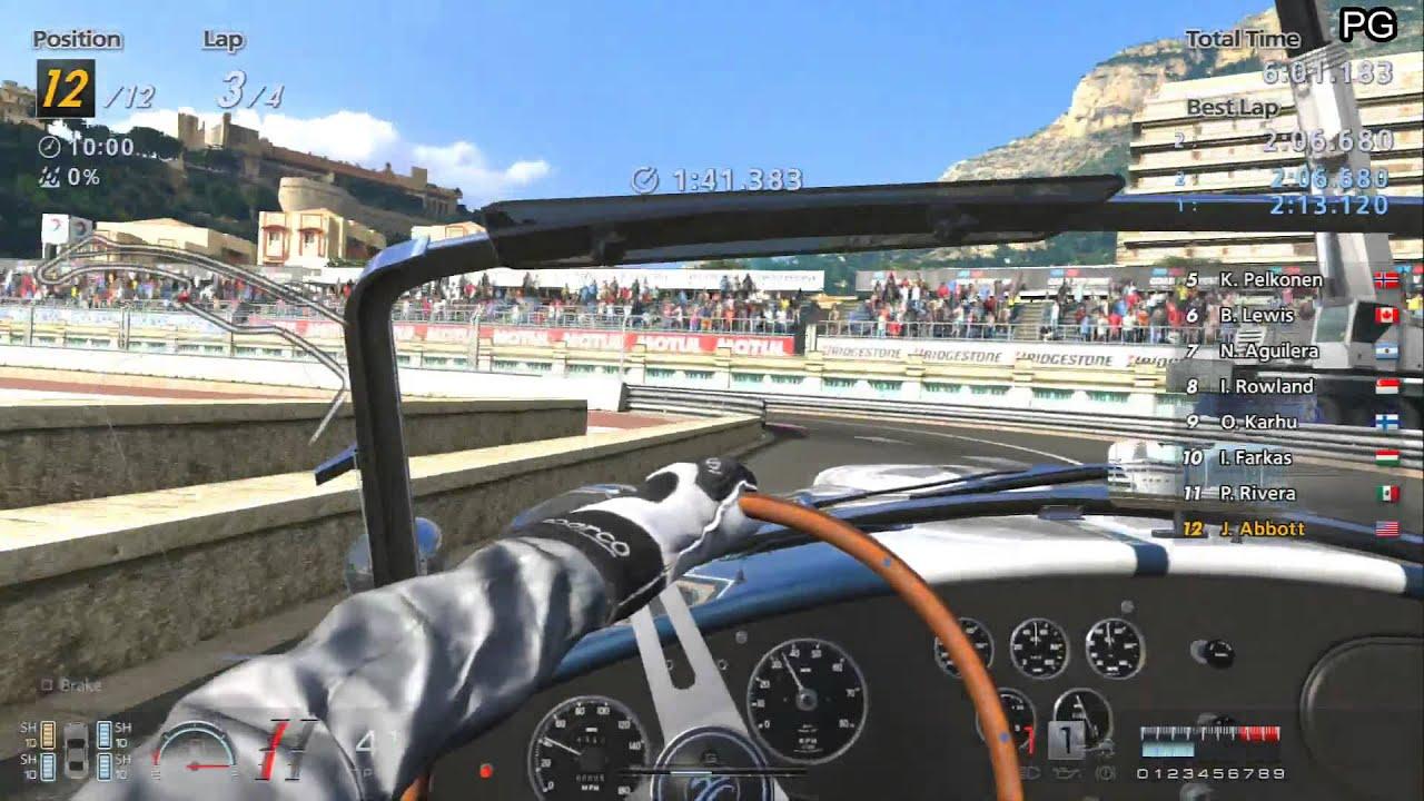 Sunday gran turismo 6 1080p ps3 part 27 international b historic racing car cup