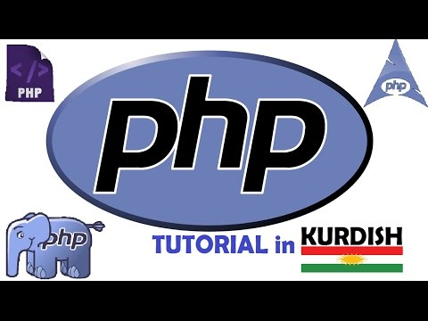 PHP tutorial for beginners [KURDISH]