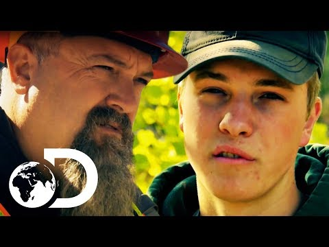 Gold Rush | SEASON 8 | Hunter Decides To Look For A New Piece Of Land To Mine