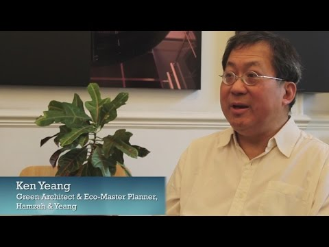 A Green Building Should Look Green, Which Means Hairy! Dr. Ken Yeang Keynote Interview