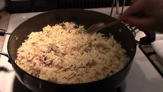 Rice with Leftover Chicken Curry - Pakistani/Indian Cooking with Atiya