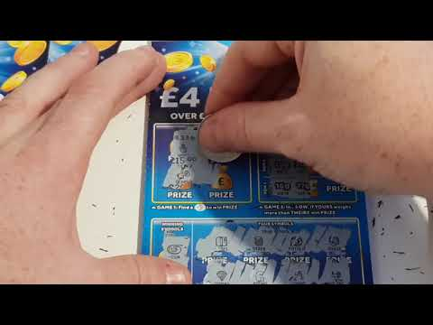 Full Pack Of Scratchcards From The National Lottery. ASMR