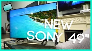 NEW 2019 Sony XBR-49X800 The Perfect 49 Inch TV?