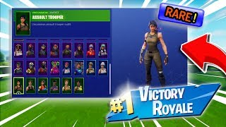My $1000+ Fortnite Locker Showcase! Maxed Omega, Assault Trooper & Alpine Ace! (Fortnite Rare Skins)