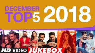 DECEMBER TOP 5 VIDEO Jukebox | T-SERIES