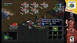 (N64) Starcraft 64 Terran Campaign mission 7 S-video