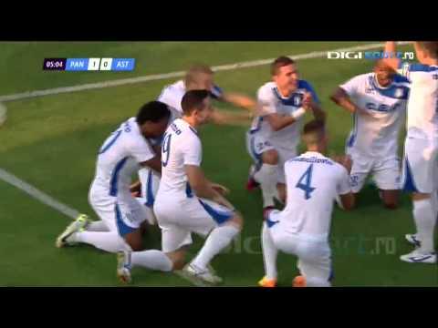 Gol/Goal Eric - Pandurii Târgu Jiu vs. Astra Giurgiu 1 - 3