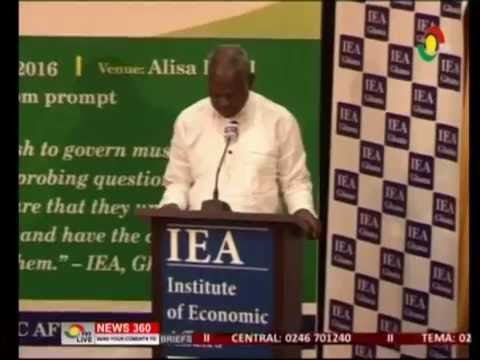 The power barge not solution to power crises   Dr. E. Mahama  - 22/6/2016
