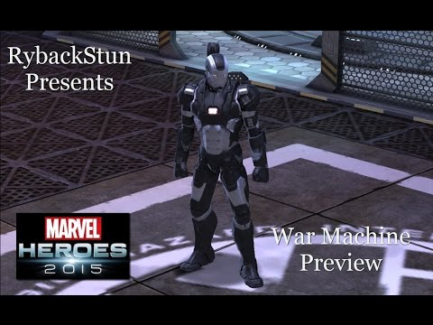Marvel Heroes: War Machine Preview!