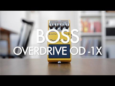 Boss Overdrive OD-1X (demo)