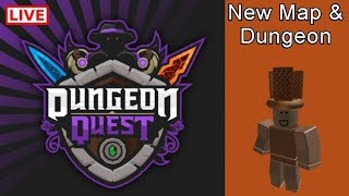 Roblox | Dungeon Quest | New Dungeon! | Free Carrying | 105+