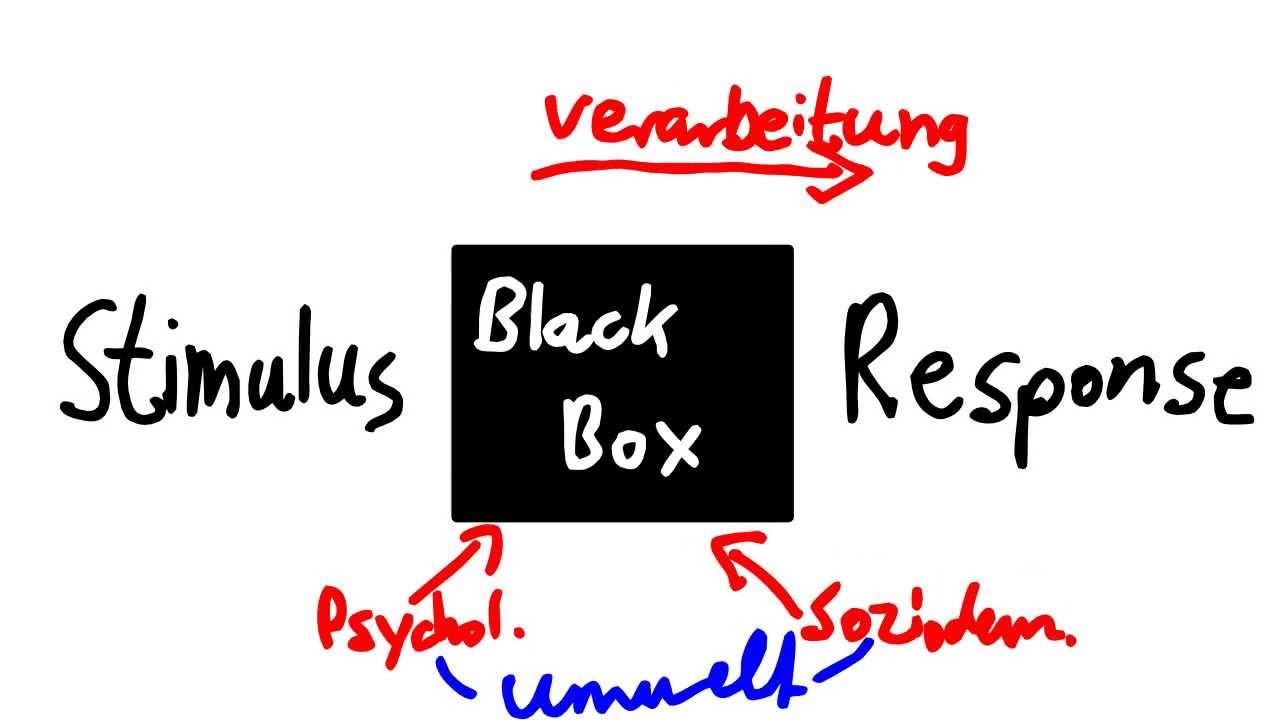 Stimulus Response Modell