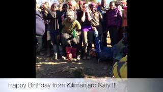 Birthday sing song, Swahili style!!