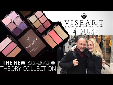 Behind the Brand | Viseart & Muse Beauty Pro Interview w/ Demo of New Theory Palettes