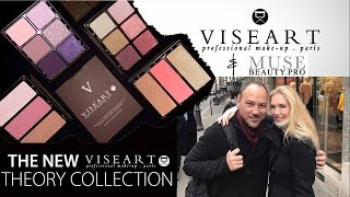 Viseart & Muse Beauty Pro Interview w/ Demo of New Theory Palettes