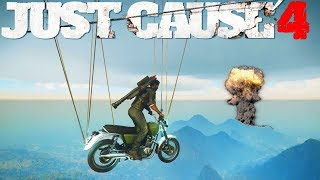 JUST CAUSE 4 EXPERIENCES DROLES, DEFIS, FUNNY MOMENT