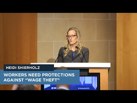 "Workers Need Protections Against ""Wage Theft"""