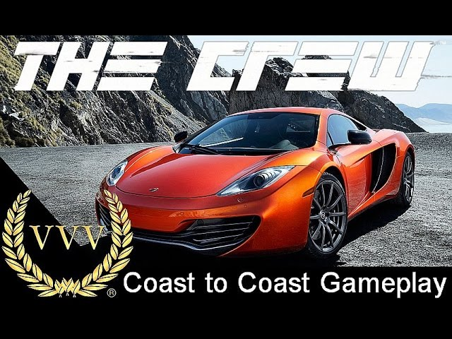The Crew - Coast to Coast - McLaren 12C Gameplay