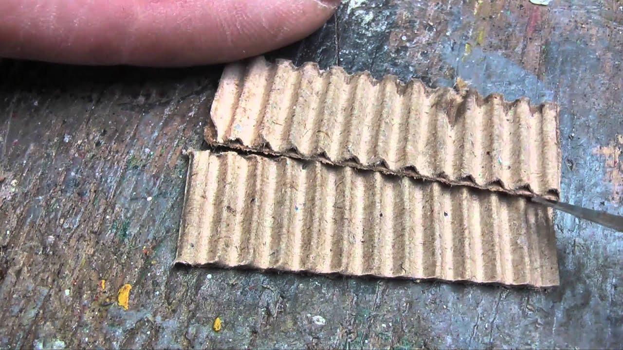 Miniature Roofing Iron Youtube