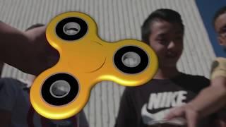 'Wij hebben de fidget spinner uitgevonden'