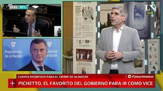 Macri-Pichetto: Martín Rodríguez Yebra analiza la fórmula de Cambiemos